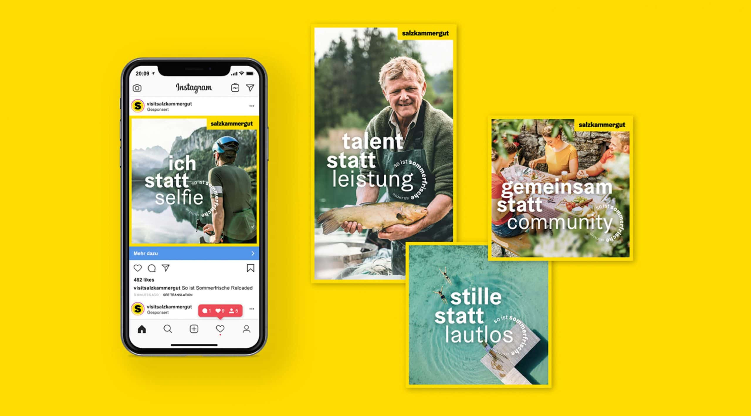 Kampagne Website Digital Projekte Branding Corporate Design Identity Mobile