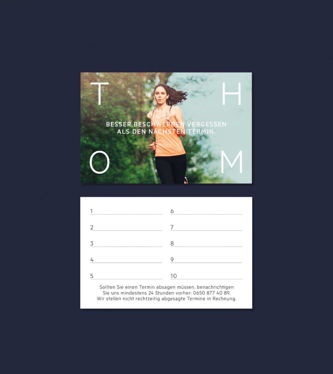 Branding Design Corporate Identity Terminkarte