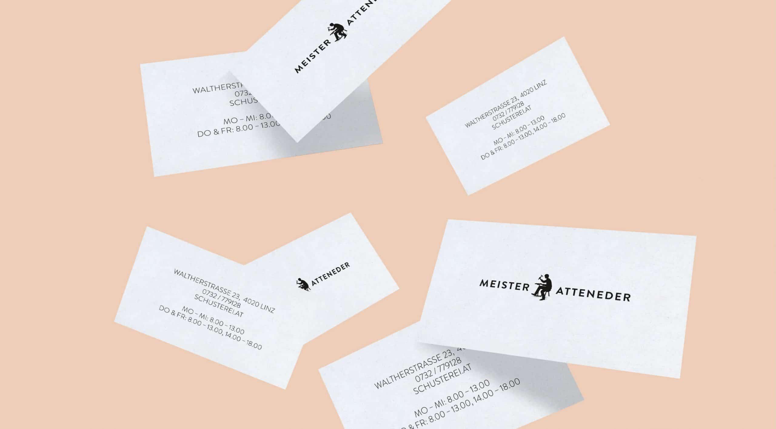 Branding Visitenkarte Corporate Design Identity