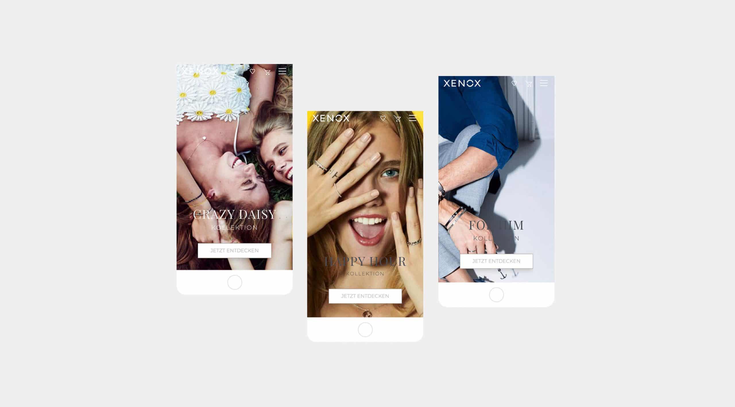 Website Onlineshop Digitale Projekte Branding Mobile