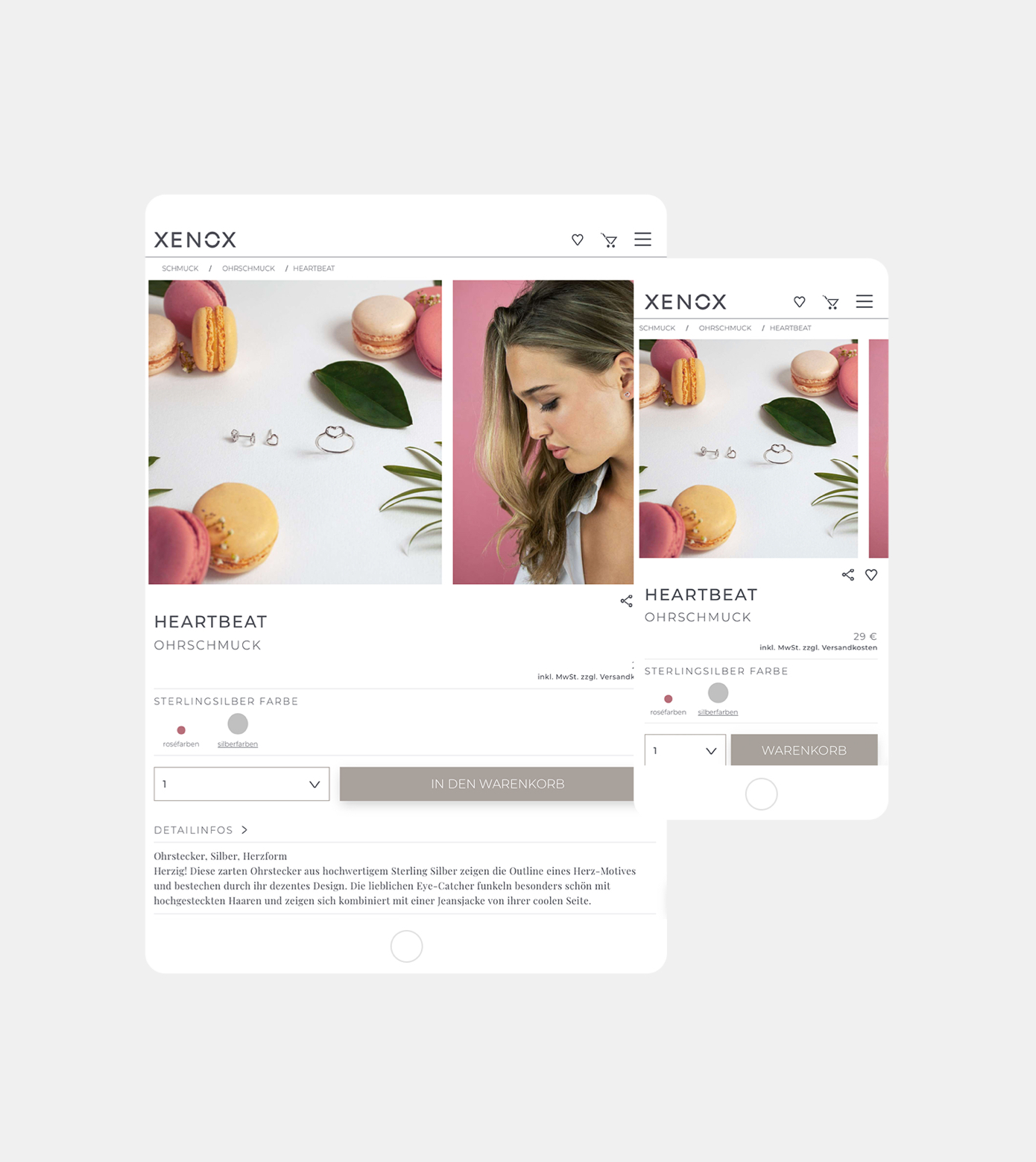 Website Onlineshop Digitale Projekte Branding