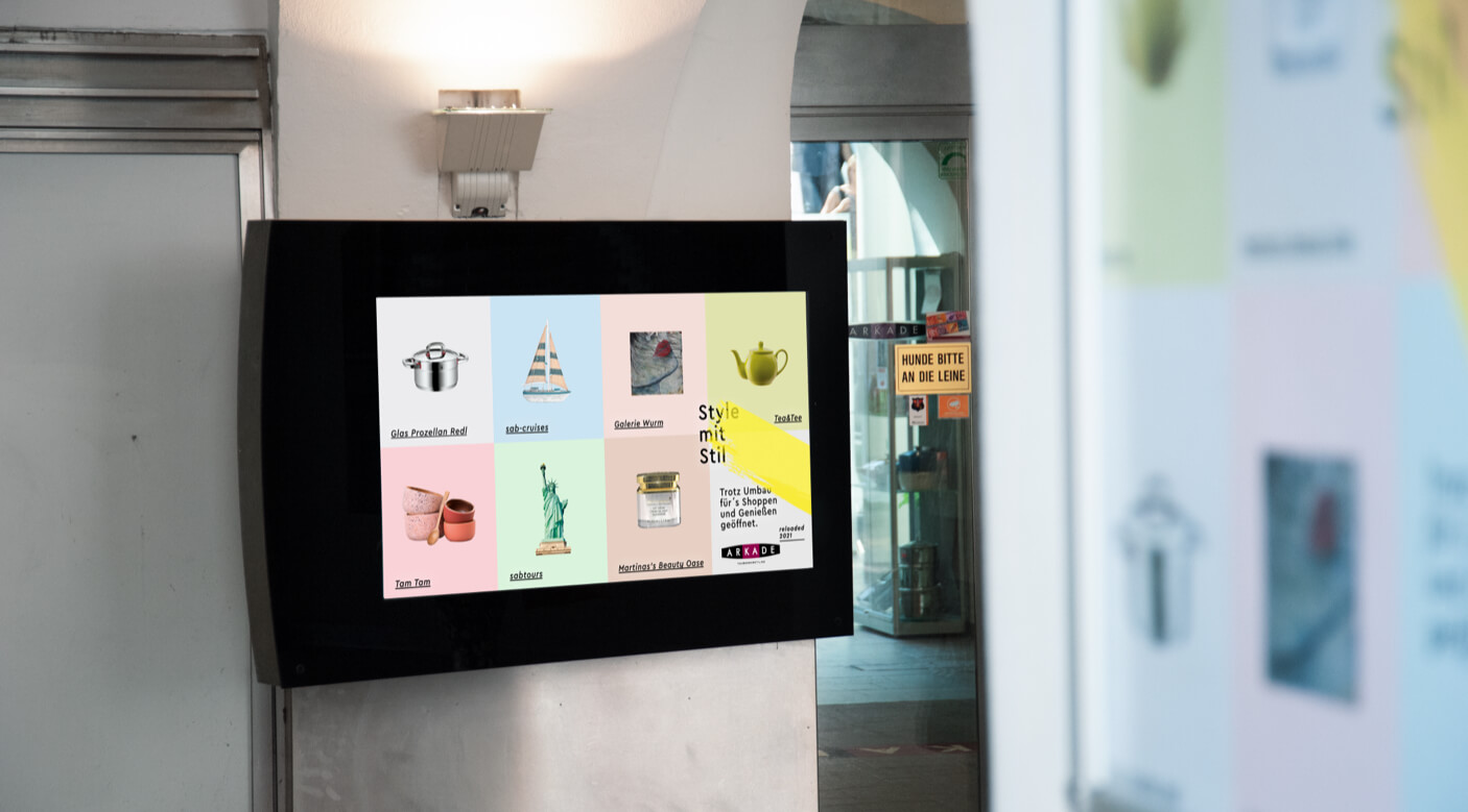 Website Slider Digitale Projekte Kampagne Branding Screen