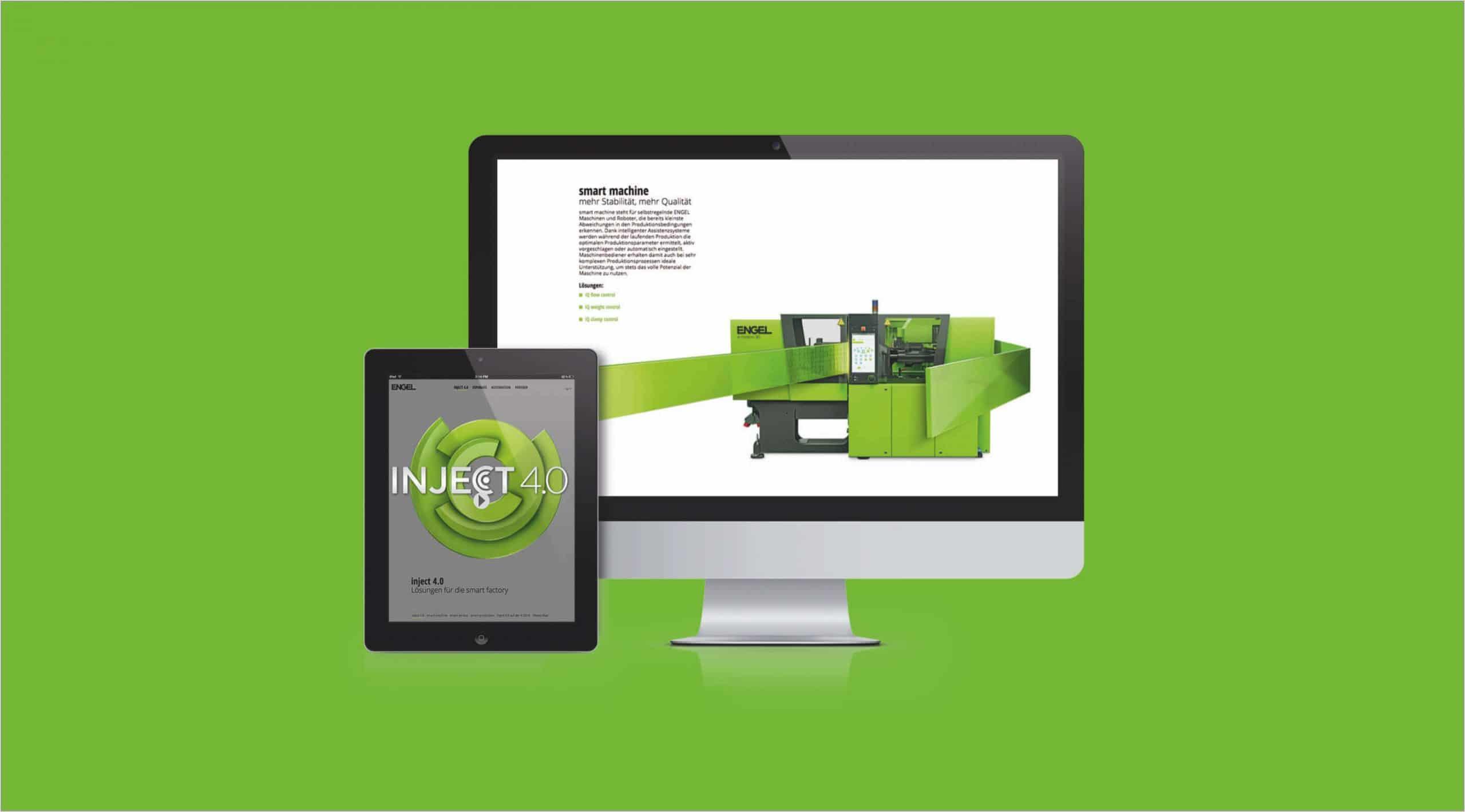 Kampagne Digital Branding Website