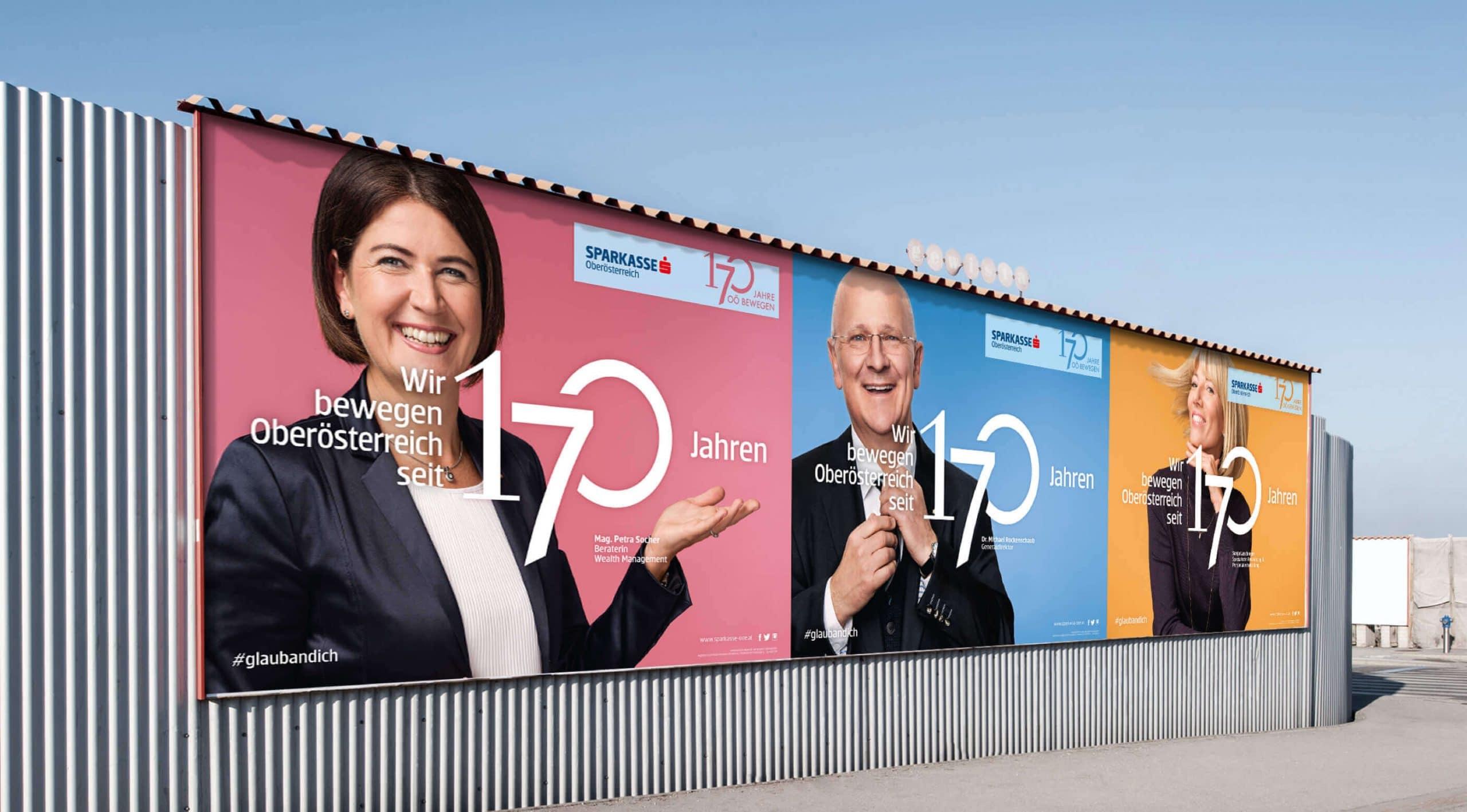 Kampagne Branding Plakat Corporate Identity