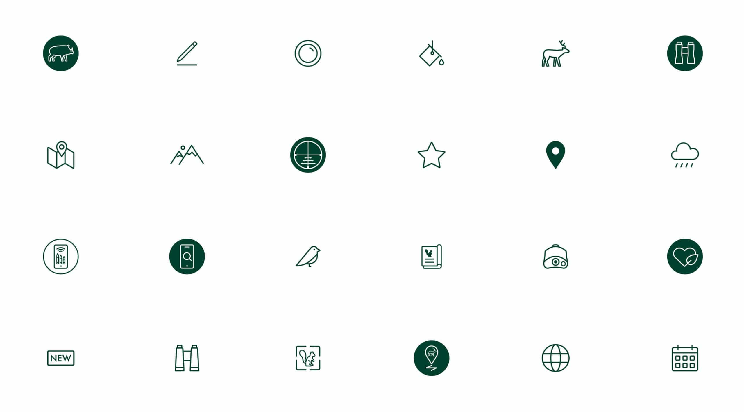 Branding Design Identity Icons