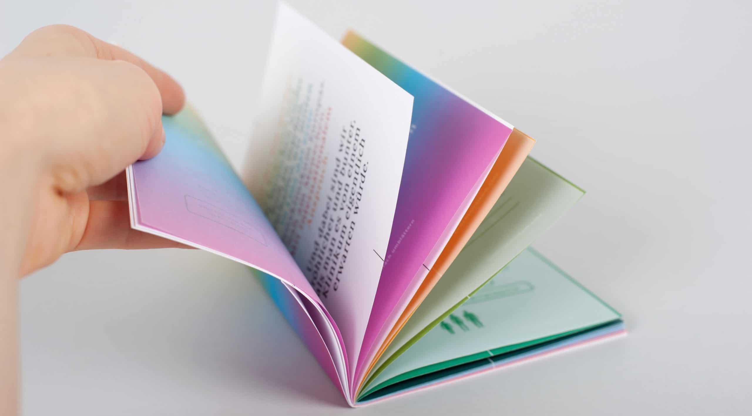 Broschüre Corporate Design Branding