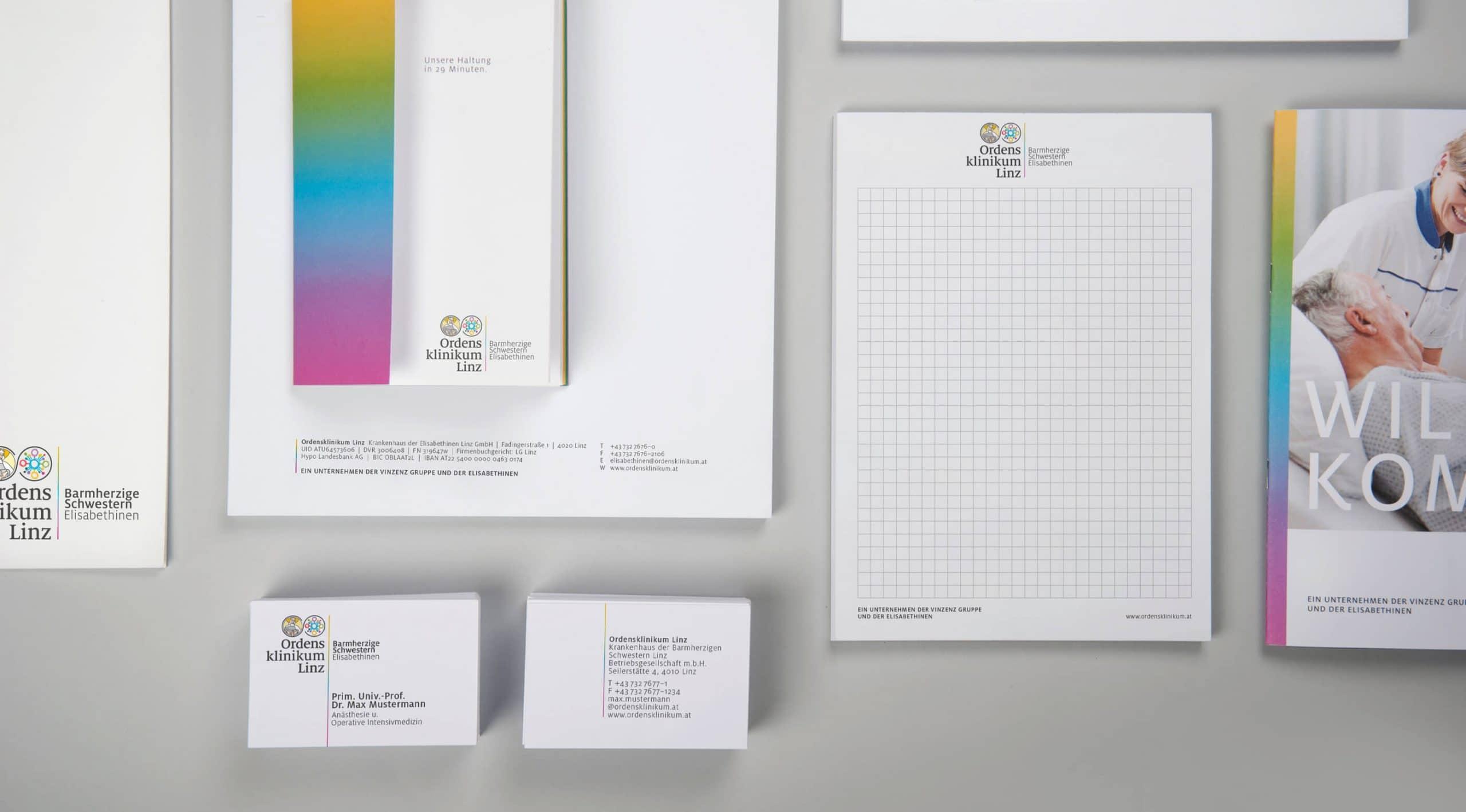 Geschäftsausstattung Branding Design Identity