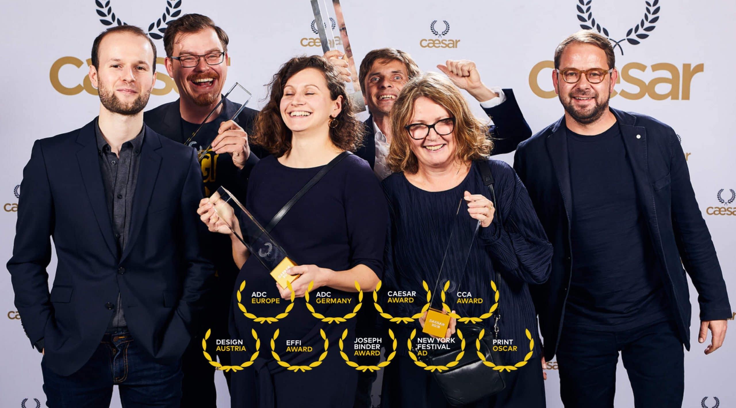 Caesar Werbepreis Team Winner