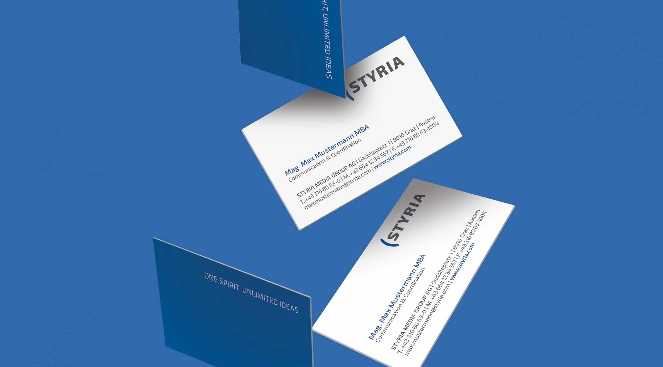 Visitenkarte Branding Design