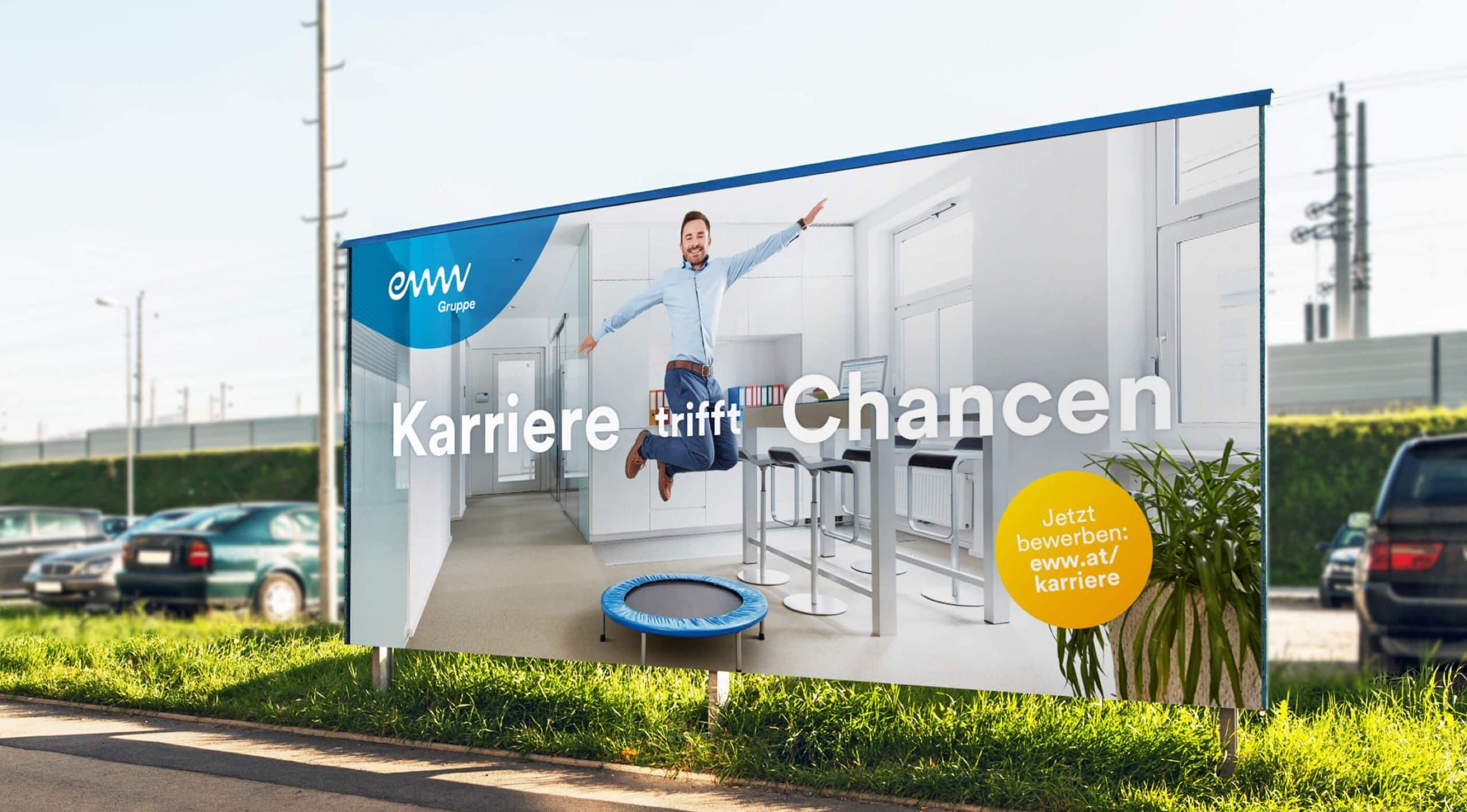 Employer Branding Kampage Plakat