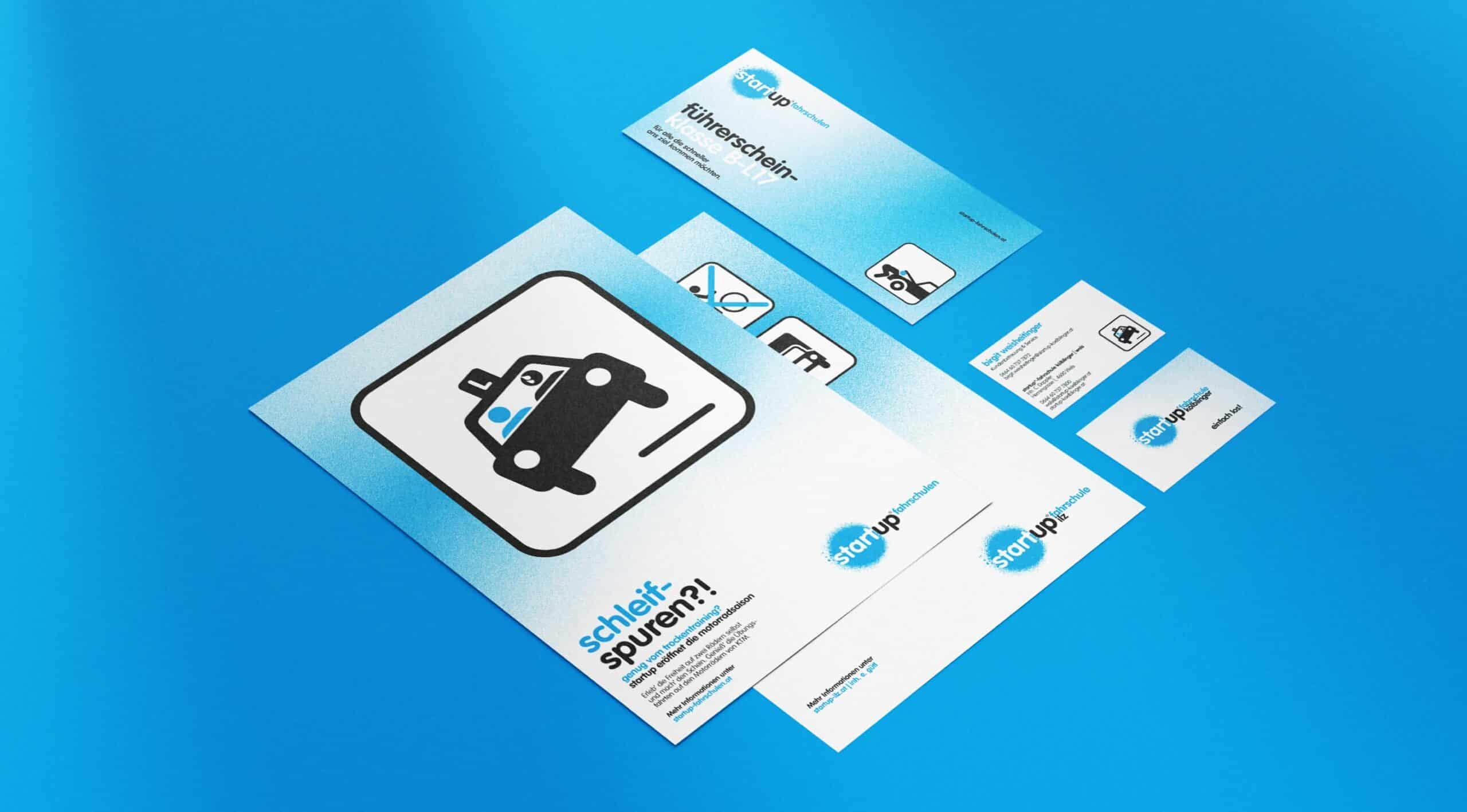 Branding Corporate Design Drucksorten